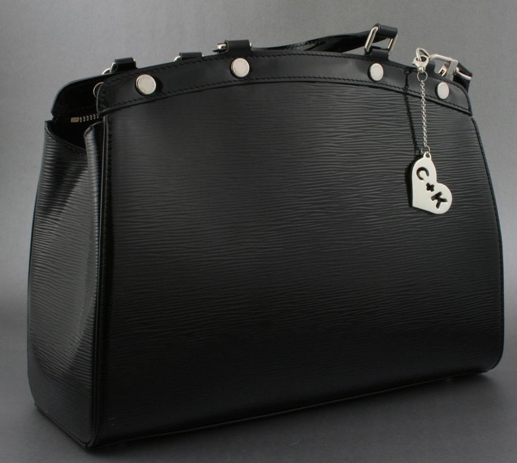 The purse charm + the purse